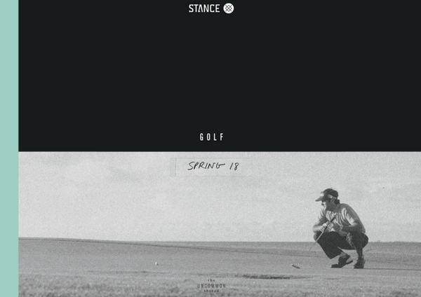 Catálogo/Lookbook STANCE SS2018