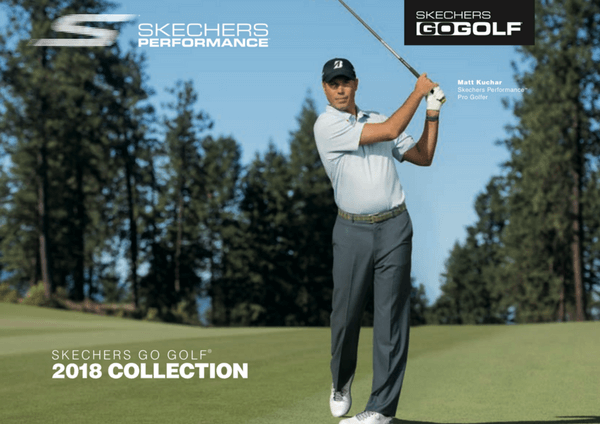 Catálogo/Lookbook Skechers Golf SS2018